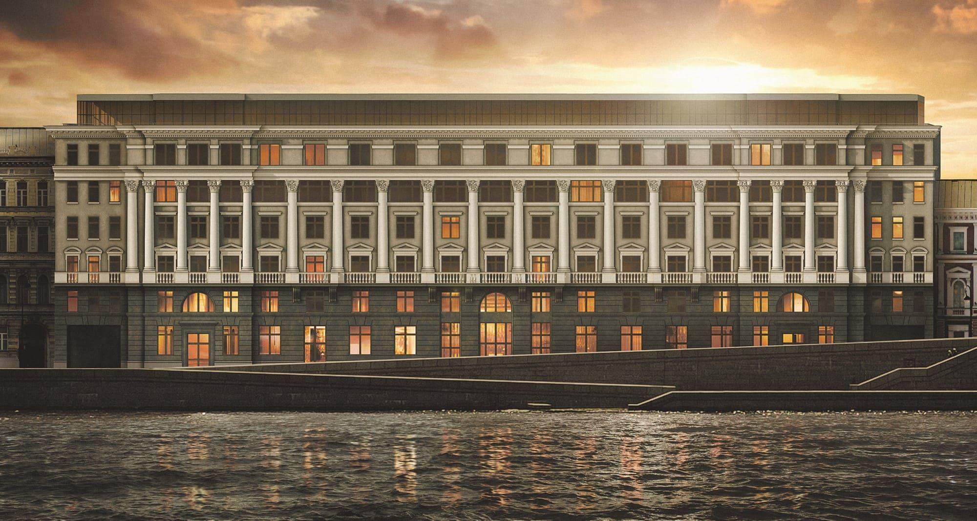«Еврострой» получил разрешение на строительство клубного дома «Приоритет»
