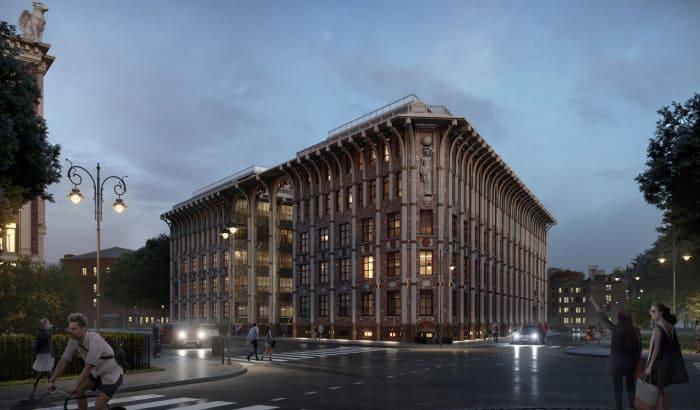 Строительство клубного дома на Крестовском